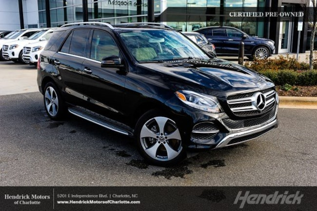 Certified 2018 Mercedes-Benz GLE 350 SUV Charlotte