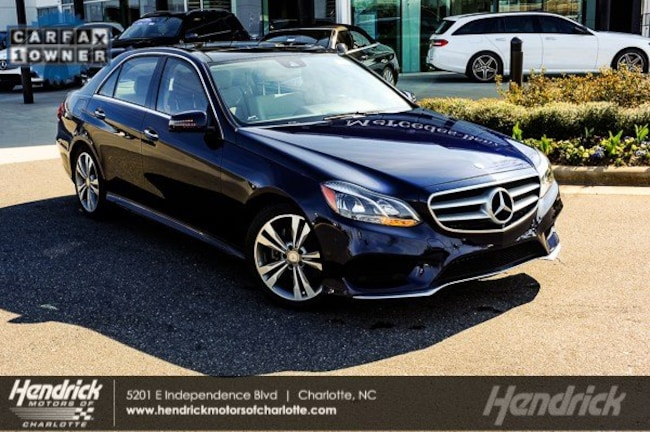 Certified 2016 Mercedes-Benz E-Class E 350 Sport Sedan Charlotte
