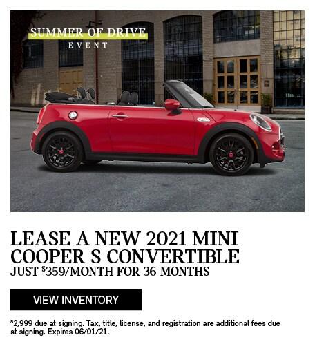 2021 MINI Cooper S Convertible