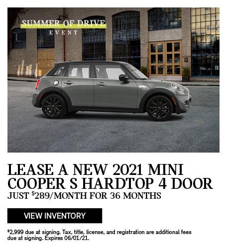 2021 MINI Cooper S HT 4 DR