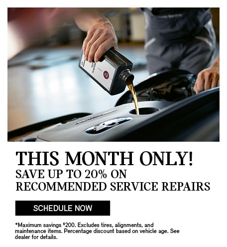Save up to 20% on Service Repairs