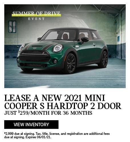 2021 MINI Cooper S HT 2 DR
