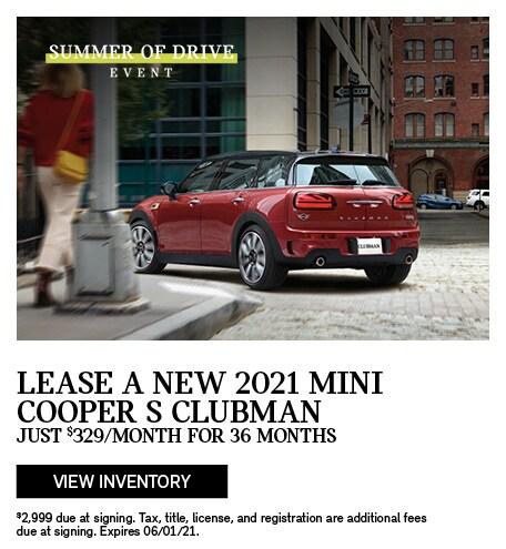 2021 MINI Cooper S Clubman
