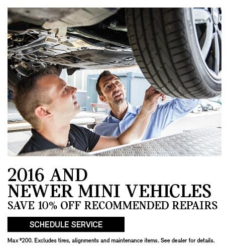2016 & Newer MINI Vehicles
