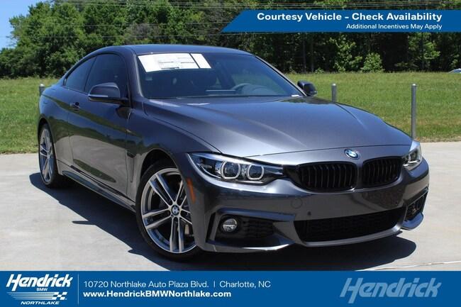 New 2019 BMW 4 Series 430i Sedan in Charlotte