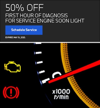 First Hour of Diagnosis For Service Engine Soon Light