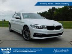 Pre-Owned 2019 BMW 5 Series 530i Sedan in Charlotte