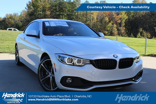 Used 2019 BMW 4 Series 430i Convertible in Charlotte, NC