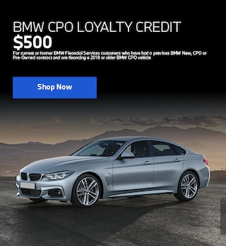CPO Loyalty Credit Offer