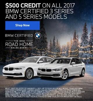 CPO 2017 BMW 3-Series & 5-Series