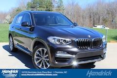 New 2019 BMW X3 sDrive30i SUV N59741 Charlotte
