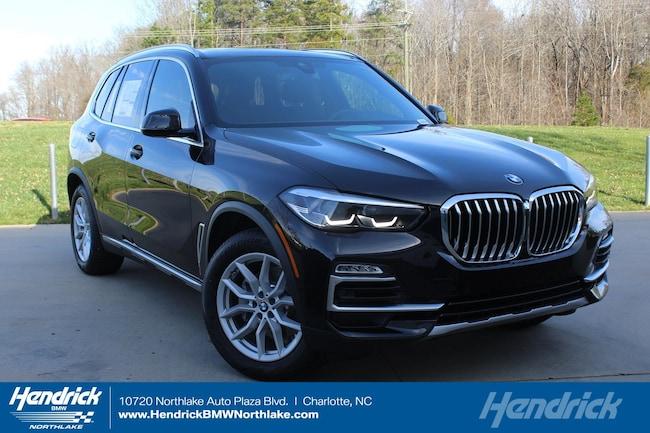 New 2019 BMW X5 xDrive40i SUV in Charlotte