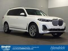 New 2019 BMW X7 xDrive40i SUV N59766 Charlotte