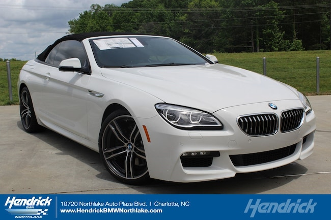 New 2018 BMW 6 Series 640i Convertible in Charlotte