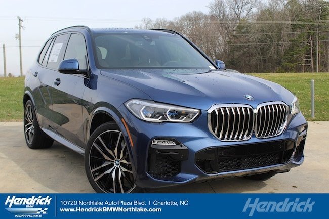 New 2019 BMW X5 xDrive40i SUV in Charlotte