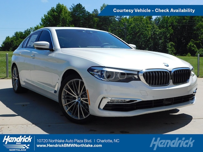 Pre-Owned 2019 BMW 5 Series 530e iPerformance Sedan in Charlotte, NC