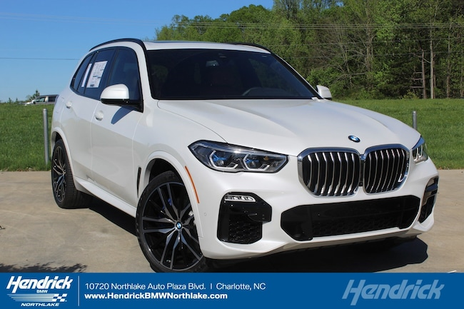New 2019 BMW X5 xDrive50i SUV in Charlotte