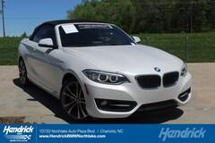 2016 BMW 2 Series 228I XDRIVE Convertible Charlotte