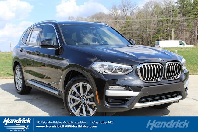 New 2019 BMW X3 xDrive30i SUV in Charlotte