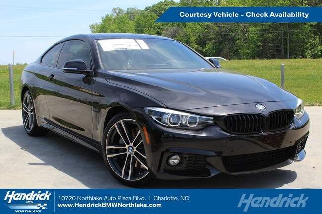 Pre-Owned 2019 BMW 4 Series 430i Coupe in Charlotte, NC