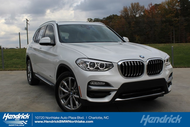 New 2019 BMW X3 sDrive30i SUV in Charlotte