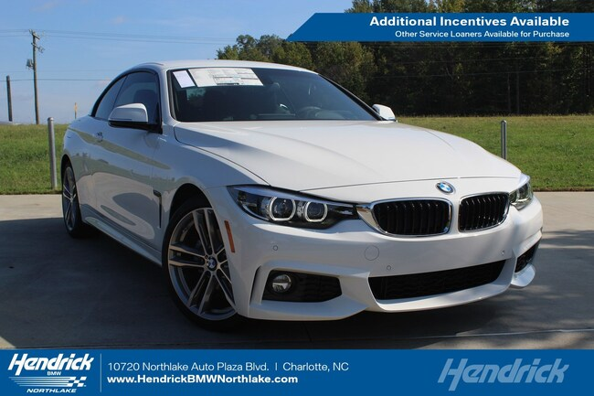 Pre-Owned 2018 BMW 4 Series 430i Convertible in Charlotte, NC