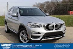 New 2019 BMW X3 sDrive30i SUV N59754 Charlotte