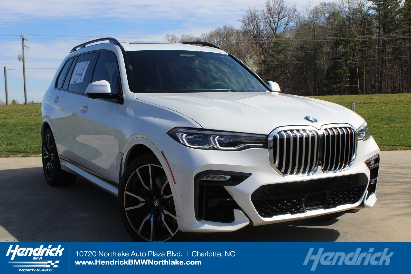 New 2019 BMW X7 xDrive50i SUV 5UXCX4C53KLB40120 for sale in Charlotte, NC