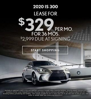 New 2020 Lexus IS 300