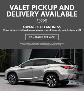 Valet Pick-up & Delivery