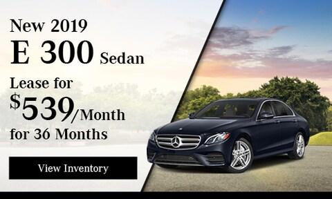 New 2019 E 300 Sedan