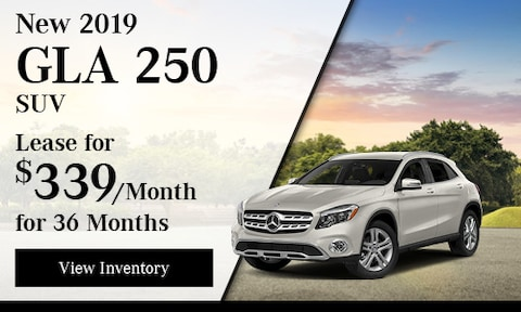 New 2019 GLA 250 SUV