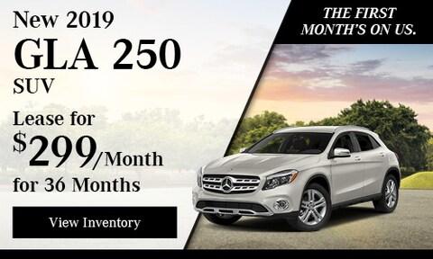 New 2019 GLA 250 SUV