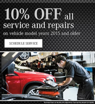 10% off all service and repairs