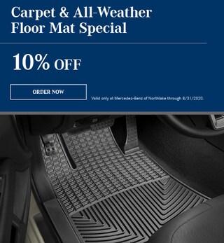 Carpet & All-Weather Floor Mat Special