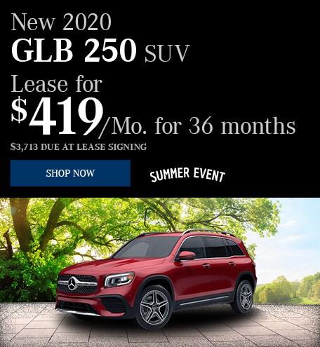 New 2020 GLB 250