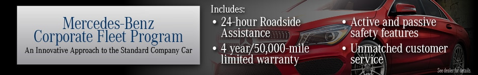Mercedes Corporate Fleet Program Mercedes Of Northlake In Charlotte - Mercedes benz 24 hour roadside assistance