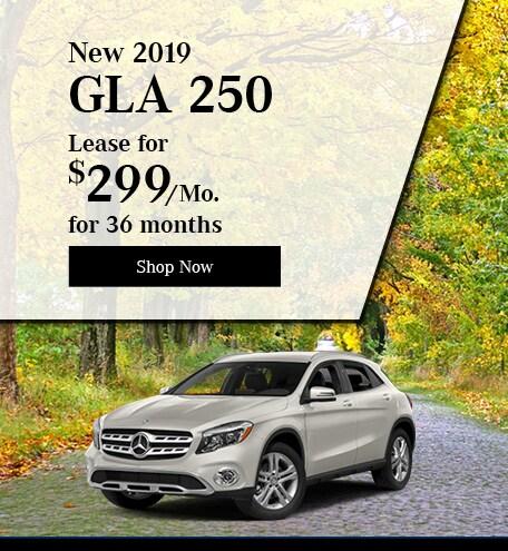 New 2019 GLA 250
