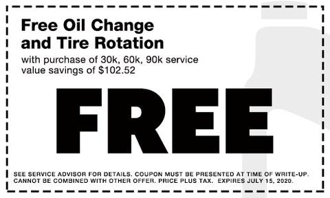 June Free Oil Change