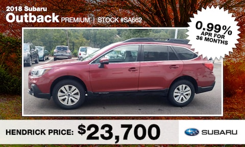 September Outback Used Special