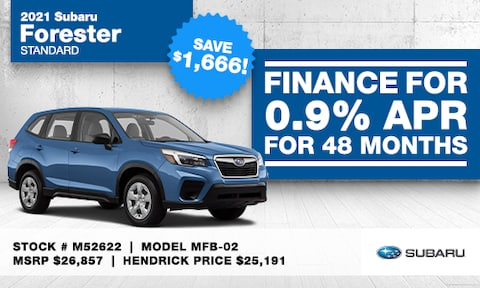 February Forester Special