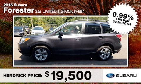 September Forester Used Special