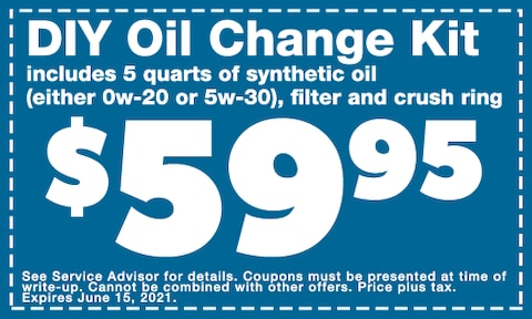 May 2021 DIY Oil Change