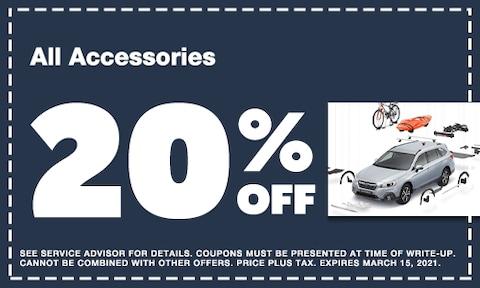 February Accessories Discount