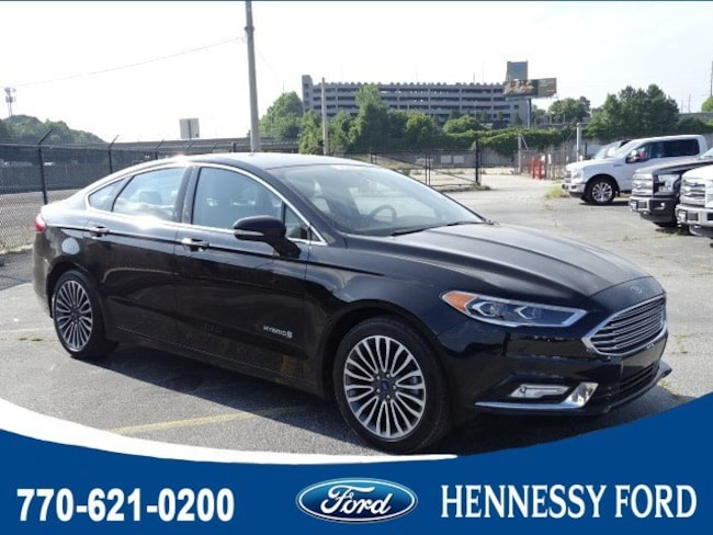 Used 2018 Ford Fusion Hybrid Titanium Sedan For Sale in Atlanta, GA