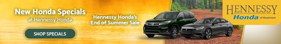 New Honda Specials - September 2020