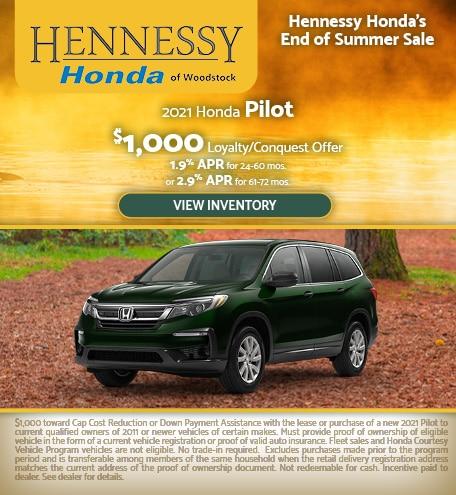 2021 Honda Pilot - September 2020