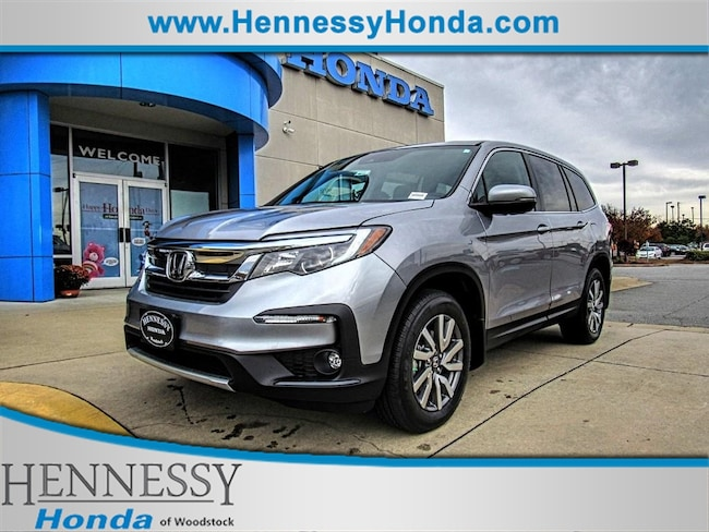 New 2019 Honda Pilot EXL 2WD SUV for sale in Woodstock, GA at Hennessy Honda