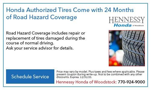 Honda Authorized Tires