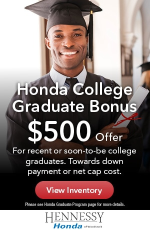 Honda College Graduate Bonus